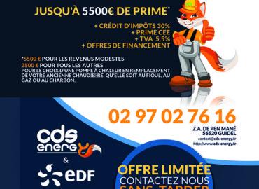 CDS ENERGY Pompes à Chaleur